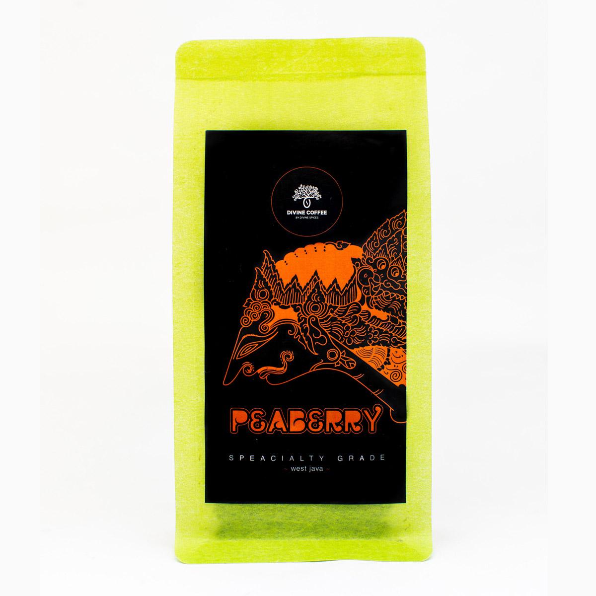 káva - Peaberry